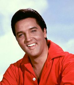 Love his smile!  Elvis Presley