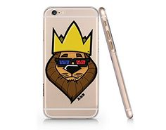 Lion King Clear Transparent Plastic Phone Case for iphone...