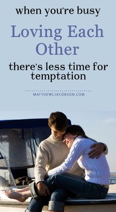 """So which religious book tells husbands and wives to have sex regularly? . . . . That would be the Bible. And, for good reason. There is much to compromise marriages, these days. Say """"No!"""" to temptation by saying """"Yes!"""" to each other, often. www.MatthewLJacobson.com"""