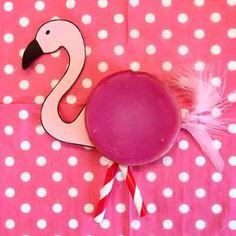 Deze Flamingo traktatie was een grote hit. Net zo gezond als een pakje Liga en makkelijk om te maken