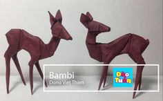 OrigamiTUT: Bambi - Dong VIet Thien