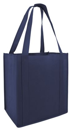 100gm Non-Woven Reusable Stand Up Shopping Tote Bags with PL Bottom (GN45)