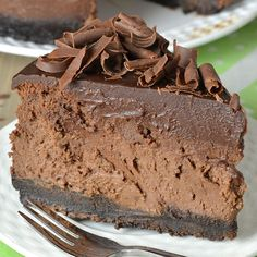 Triple Chocolate Cheesecake With Oreo Crust