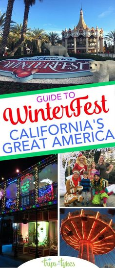 Top tips for WinterFest at California's Great America. What to do to celebrate the holiday season at this theme park in Santa Clara, near San Francisco and San Jose.
