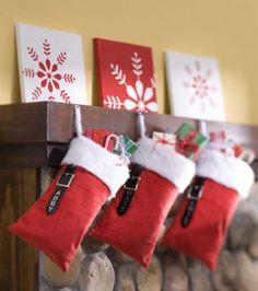Santa's Bag Stockings