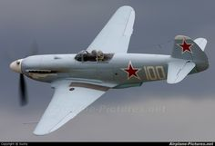 Private Yakovlev photo by Suchy Ww2 Aircraft, Fighter Aircraft, Military Aircraft, Fighter Jets, Airplane Fighter, Aircraft Painting, Ww2 Planes, Vintage Airplanes, Aviation Art