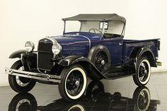 1931 Ford Model A Roadster pikap - Antique Trucks, Vintage Trucks, Antique Cars, Ford Roadster, Car Ford, Ford Classic Cars, Classic Trucks, Lamborghini, Ferrari