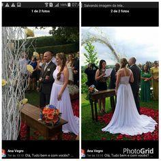 Pra começarmos maravilhosamente bem o nosso dia, recebemos as fotos do casamento da linda  Ana Vegro   agradecendo pelos ajustes que fizemos no vestido dela.  Aninha...muito obrigado pelo carinho e pela confiança.
