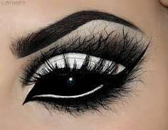 Image result for spider makeup