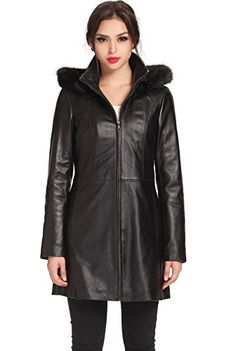 "Look chic in cooler temps with this modern hooded parka coat made from ultra soft, smooth New Zealand lambskin leather. Zip-out insulated filling adds extra warmth for winter.   	 		 			 				 					Famous Words of Inspiration...""I bought some batteries but they weren't included, so I had to...  More details at https://jackets-lovers.bestselleroutlets.com/ladies-coats-jackets-vests/leather-faux-leather-ladies-coats-jackets-vests/product-review-for-bgsd-womens-irene-lamb"