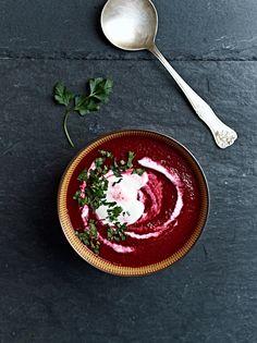 beetroot soup: https://recepty.rohlik.cz/809-polevka-z-cervene-repy