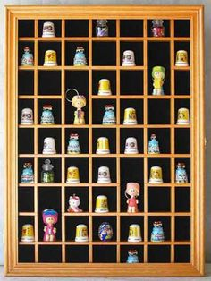 This is to display my souvenir thimbles!