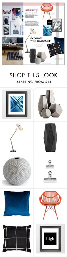 """gallery wall"" by lemonade-lagoon ❤ liked on Polyvore featuring interior, interiors, interior design, home, home decor, interior decorating, Cyan Design, Arteriors, House Doctor and Salvo"
