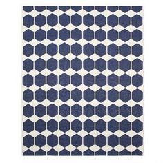Anna rug midnight blue large - 150x200 cm - Brita Sweden