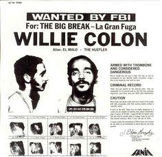 The Big Break - La Gran Fuga (1971).  Willie Colón  Fania