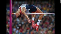 Robert Grabarz of Great Britain competes in the men's high jump final.    London Olympics 2012 Day 11: The best photos of the Olympics - CNN.com