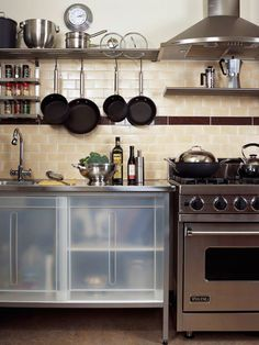 Looking for spaces to store more in your kitchen?  This post had a lot of great ideas!