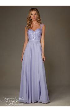 Bridesmaids Dress 20473 Chiffon with Beading