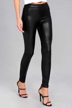 43a613889 Free People Moto Black Vegan Leather Leggings 3 Vegan Shoes