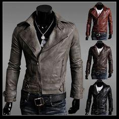 men's punk fashion | 2012 fashion our designs slimming apparel, motorcycle men's punk PU ...