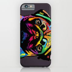 Pug Dog iPhone & iPod Case by ArtPause - $35.00