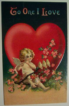 https://flic.kr/p/4kkpnQ | Vintage Valentine's Day Postcard