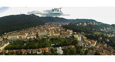 Brasovul, inconjurat de munti :) #brasov #romania #transilvania Romania, City Photo