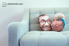 PillowMob... customized pillows made with your face.