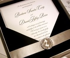 Black Tie Wedding Invitation Invitations Stationery Planner