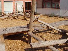 Play area, Stuttgart School, Germany