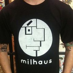 bauhaus-movement: Milhaus a Mashup of Milhouse and Bauhaus. bauhaus-movement: Milhaus a Mashup of Milhouse and Bauhaus. Joy Division, Humor Grafico, Glam Rock, The Simpsons, Graphic Tees, Graphic Design, Punk, T Shirts For Women, Trending Outfits