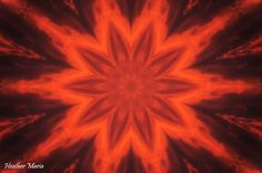 sun kaleidoscope - fire in the sky