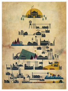 Modern Industry by Adam Hancher from Poster Cabaret $50