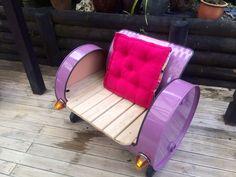 Girls drum chair