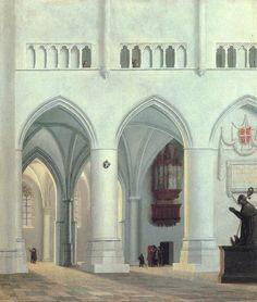 Pieter Saenredam – Interior of the Church of St. Bavo at Haarlem (1638)
