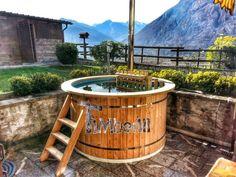 Vasca Da Esterno Riscaldata : Best hot tub in legno idromassaggio spa da esterno in giardino