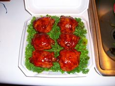 BBQ Smoked Chicken in a blind box for KCBS - how to build a blind box