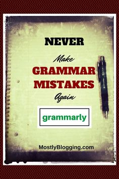 Grammarly helps writers online. Grammarly is one of those tools that is free, easy, and quick to use. Read this article to see why. MostlyBlogging.com