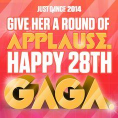 Happiest of Birthdays to Lady Gaga!