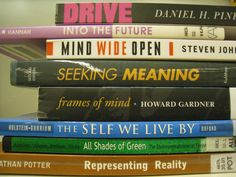 Book spine poetry Howard Gardner, Book Spine, Shades Of Green, Book Quotes, Meant To Be, Self, Poetry, Mindfulness, Poetry Books