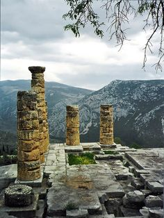 Delphi, the centre of the world. This place is truly amazing, I will never forget that space.