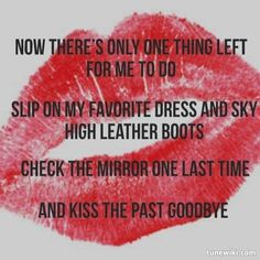 One last kiss goodbye lyrics