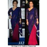 kajol-lokk-beautiful-in-blue-red-bollywood-replica-saree