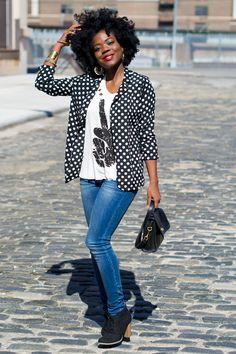 Street Style Inspiration: Polka Dots!