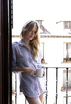 En el estudio de #ChristinaRosenvinge © Rubén Vega