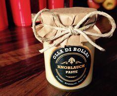 Rezept Knoblauchbasis - Praktische Paste auf Lager von Olla di Bolla - Re . Chutney, Claudia S, Snack Recipes, Snacks, Dips, Pesto, Little Gifts, Side Dishes, Food And Drink