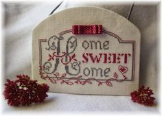 "Le Blog d'Aurèle: Home Sweet Home - Veronique Enginger ""une annee a broder"" MANGO - Home sweet home"