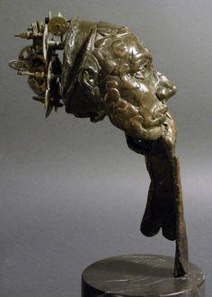 Thinking, bronze