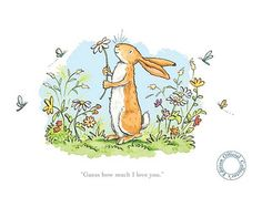 The best wedding readings from children's books - Guess How Much I Love You by Sam McBratney. Reading at our wedding will be from our 11 year old daughter. Hope she chooses a good one! Anita Jeram, Cute Love, My Love, Wedding Readings, Wedding Ceremony, Bunny Art, Child Love, Children's Book Illustration, Animal Illustrations