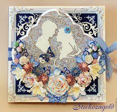 Купить Большая открытка-книжка в коробочке. - День Святого Валентина, святой валентин, на день влюбленных